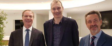 Entretien entre François Asselin et David Cormand, député européen, le 17 octobre